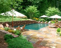 Rectangular traditional-pool