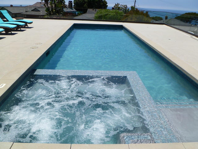 Redondo beach contemporary pool los angeles by - American swimming pool and spa association ...