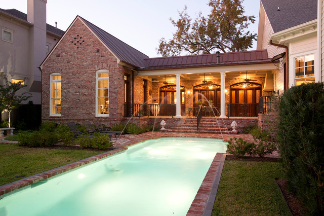 Reed Residence traditional-pool