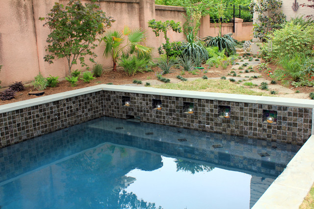 Reflections Fort Worth Tx Contemporary Pool Dallas By One Specialty Landscape Design