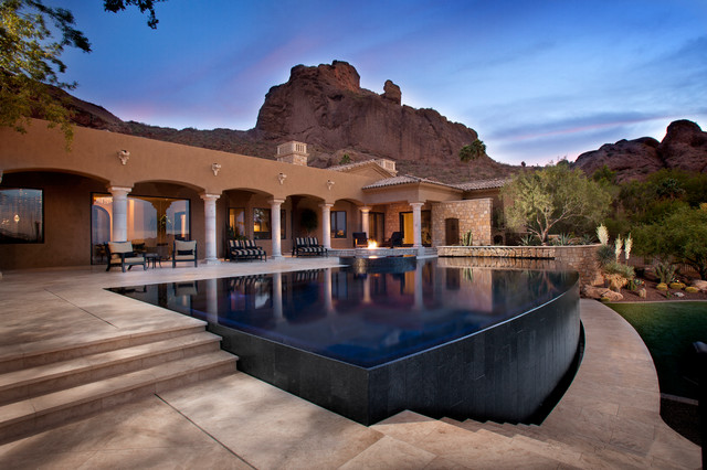 Reflective Oasis Contemporary Pool Phoenix By