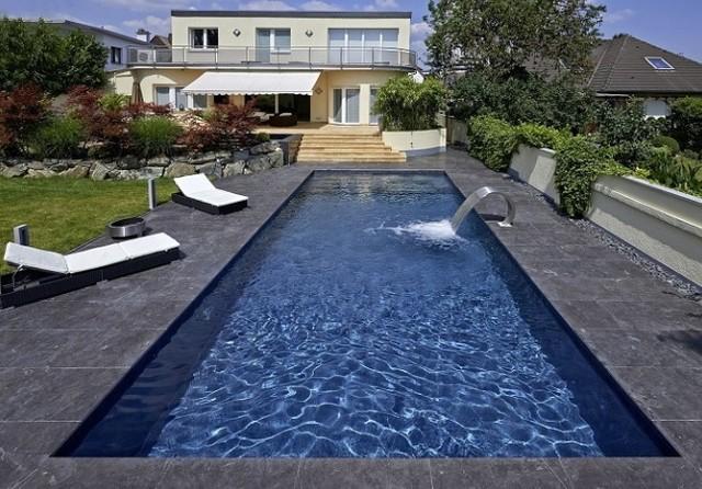 Renolit alkorplan touch 3000 contemporary pool for Piscina rigida rectangular