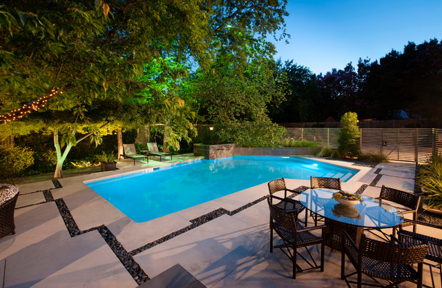 Renovation ii modern contemporary pool dallas by for Pool design inc