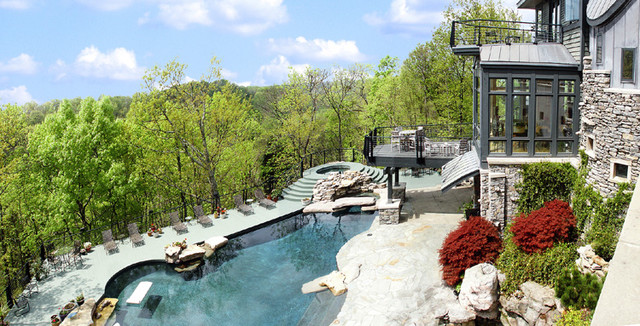 Residence in forest hills tennessee for Swimming pool builders nashville tn