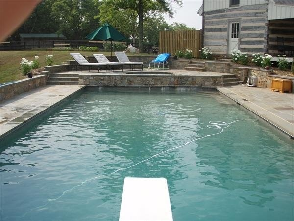 residential pool design traditional pool