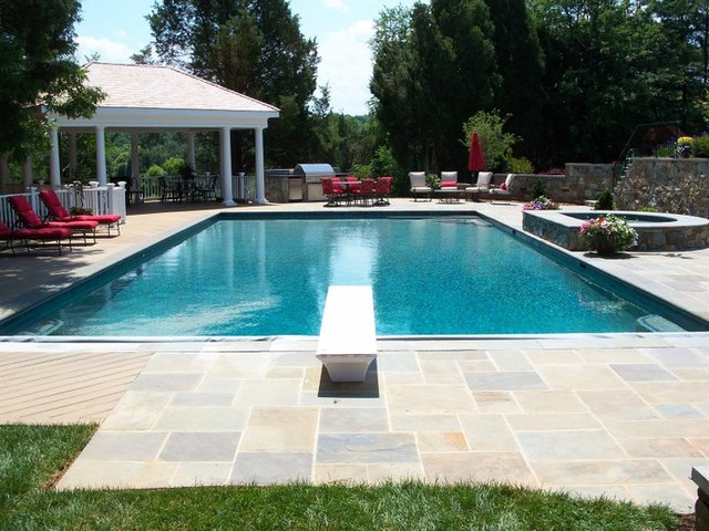 residential pool design contemporary pool