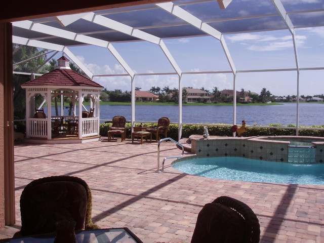 Residential Pool Enclosure traditional-pool