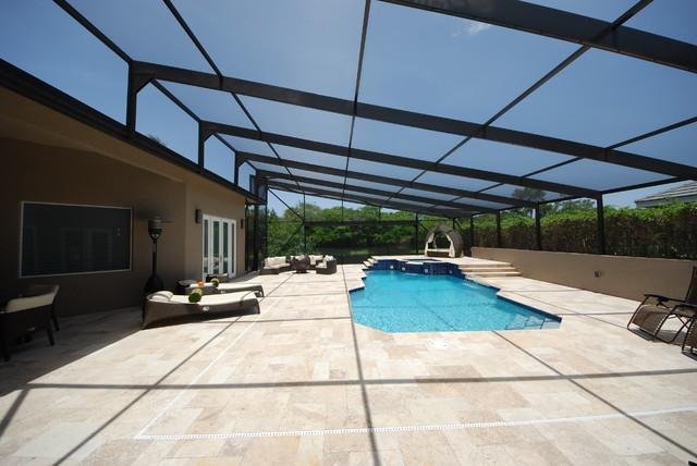 Residential pool enclosure for Pool enclosure design software