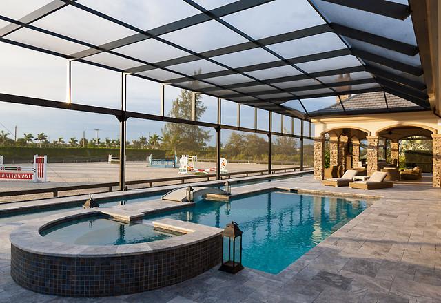 Residential Pool Enclosures Contemporary Pool Miami