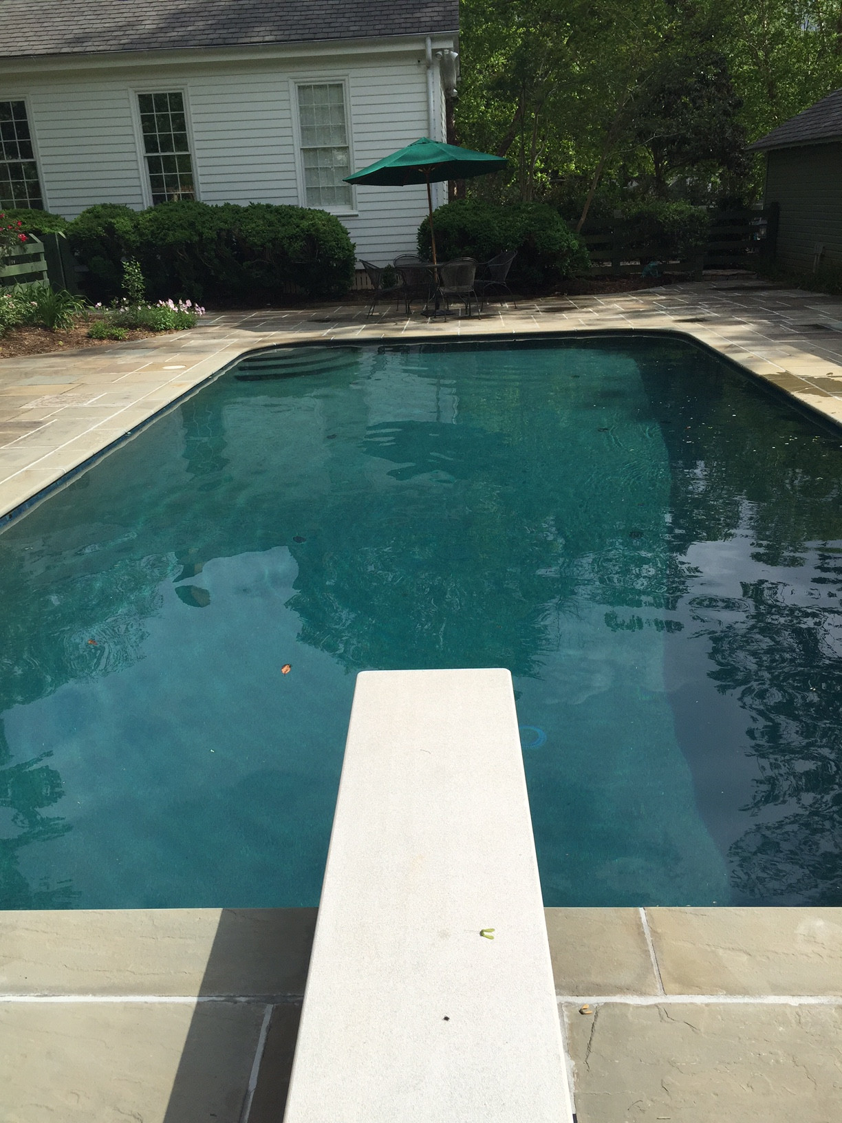 Residential Pool Renovation in Historic Hillsborough NC