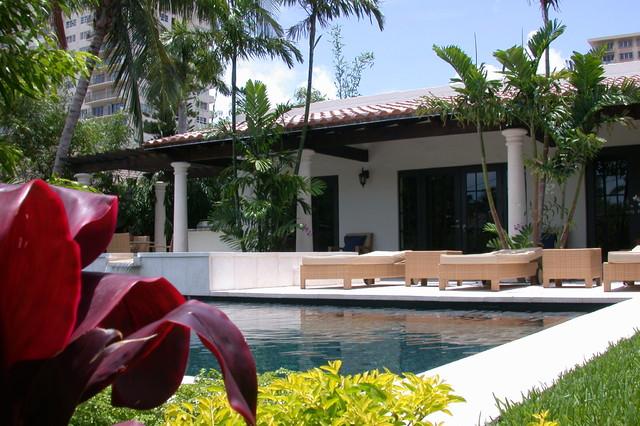 Residential Renovation 2 Fort Lauderdale tropical-pool