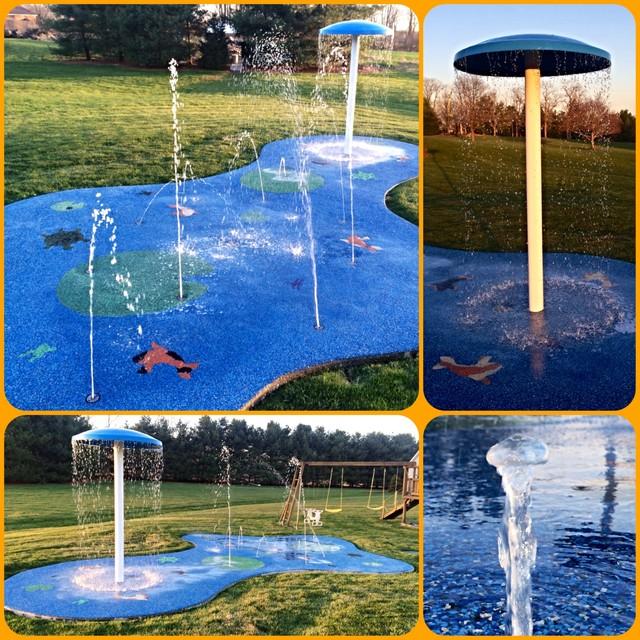 Residential Splash Pad for your backyard