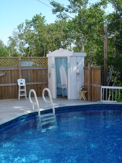 Restyled Home beach-style-pool
