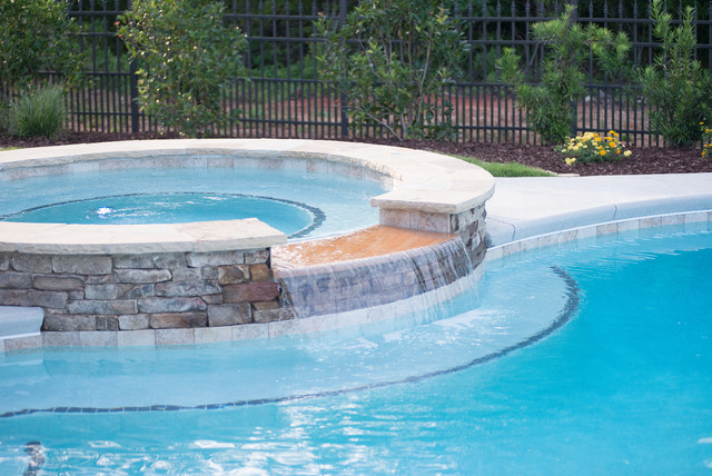 Retirement retreat greenville sc for Pool design greenville sc