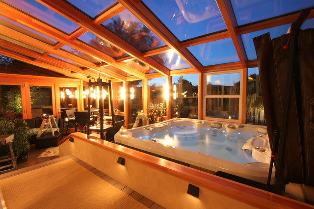 Rick And Cynthia S Sunroom Contemporary Pool Other