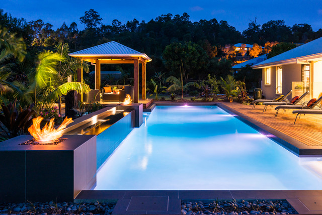 Riverstone Crossing Gold Coast Tropical Pool Gold