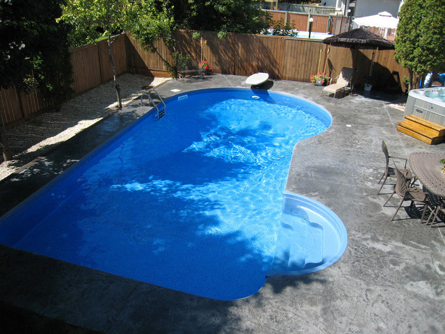 Riviera pool design tropical pool other metro by for Pool design questions