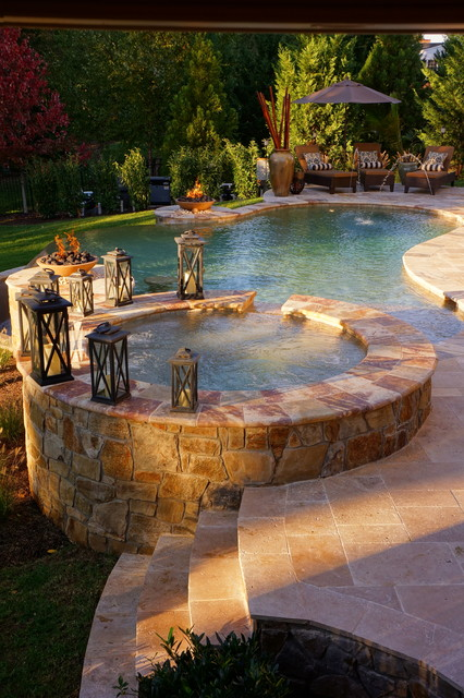 Roan Chapel Contemporary Pool Dc Metro By Town Country Pools Inc