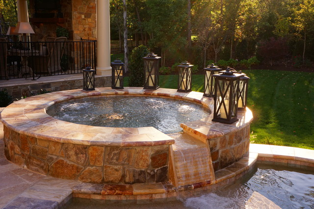 Roan Chapel Contemporary Swimming Pool Hot Tub Dc Metro By Town Country Pools Inc