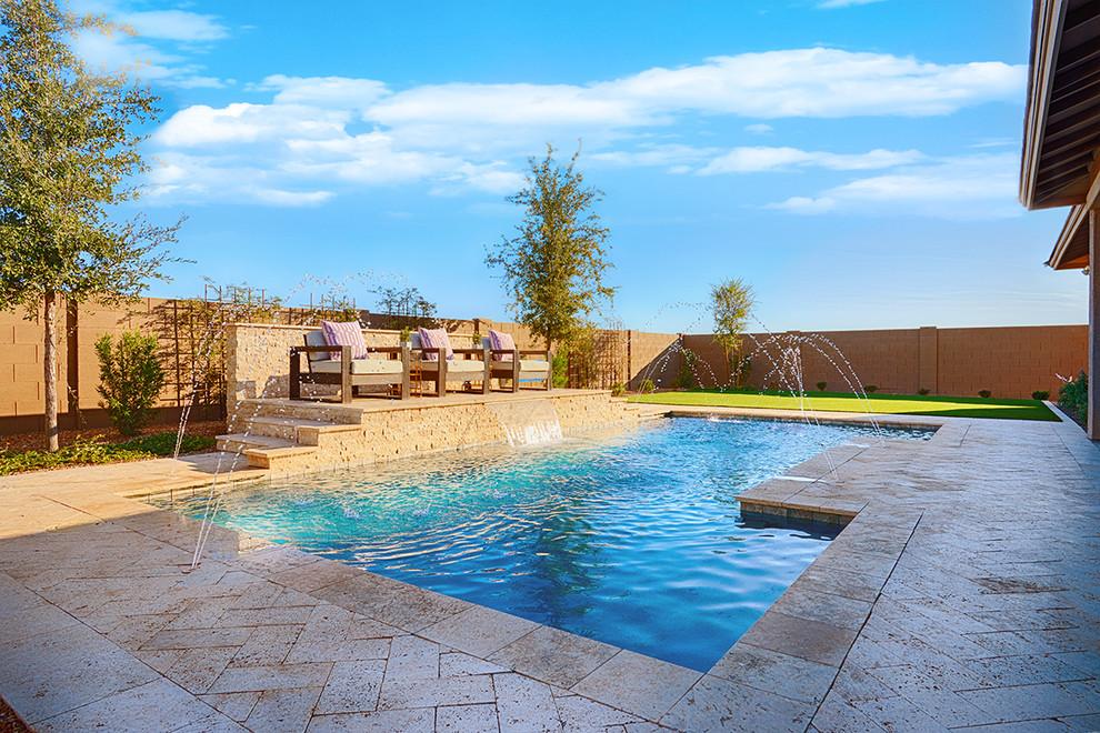 Robert Model Home In Arizona Contemporary Pool Las Vegas By Richmond American Homes,Software Company Office Interior Design