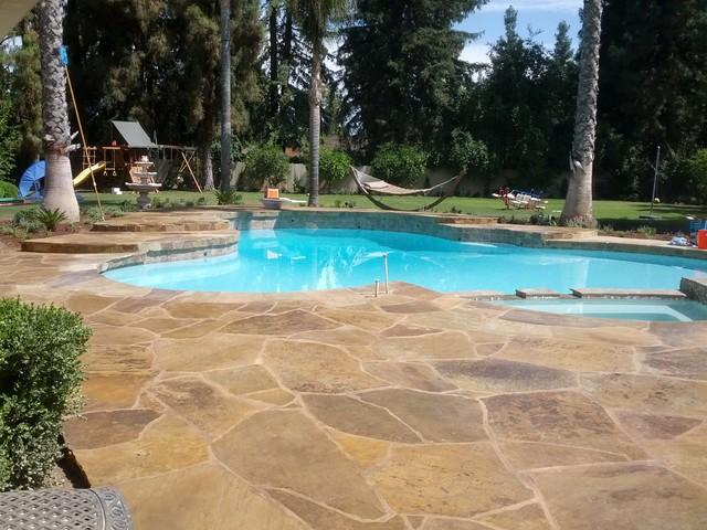 Robinwood Exterior mediterranean-pool