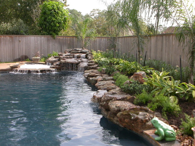 Swimming Pool Waterfall Designs breathtaking pool waterfall design ideas Rogers Custom Swimming Pool Spa Waterfall Design Contemporary Pool