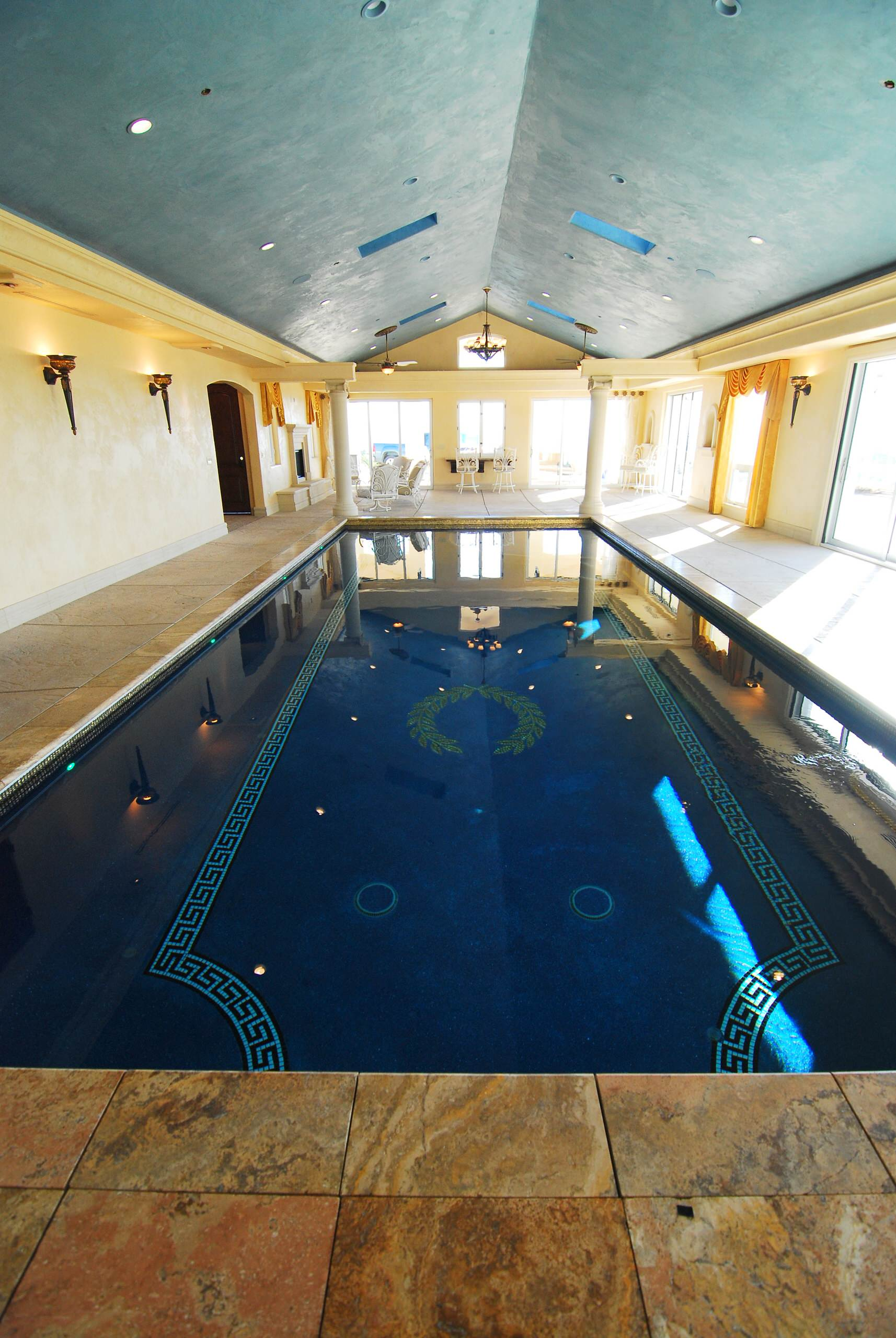 Roman Pool House Paso Robles