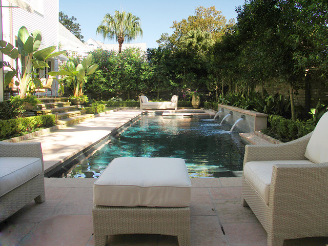Rosa park residence pool traditional pool new for Pool design new orleans