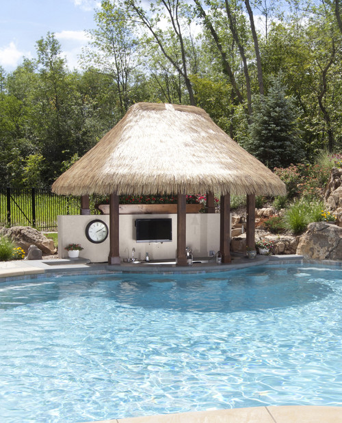 Awesome Residential Swim Up Bars Liquidseat
