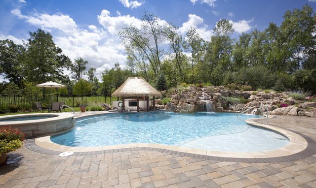 Rosebrook Pools, Inc. tropical-pool