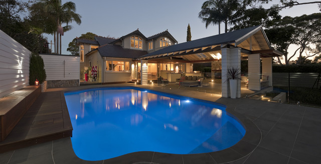 Roseville pavilion contemporary pool sydney by for Pool design roseville ca