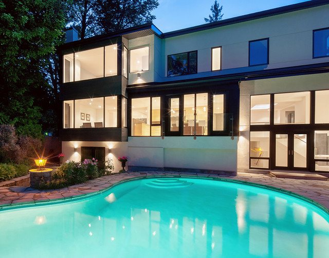 Rothwell heights house contemporary pool ottawa by for Pool design ottawa