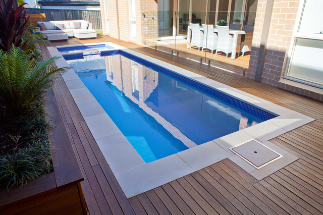 Rouse Hill - Plunge pool - Contemporary - Pool - Sydney ...
