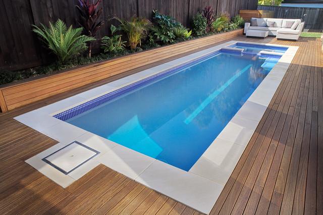Rouse Hill Plunge Pool Contemporain Piscine Sydney
