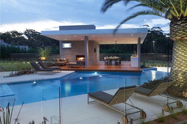 Rural resort modern pool sydney by dean herald for Pool design houzz