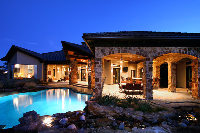 rustic hill country elegance by zbranek holt custom homes austin