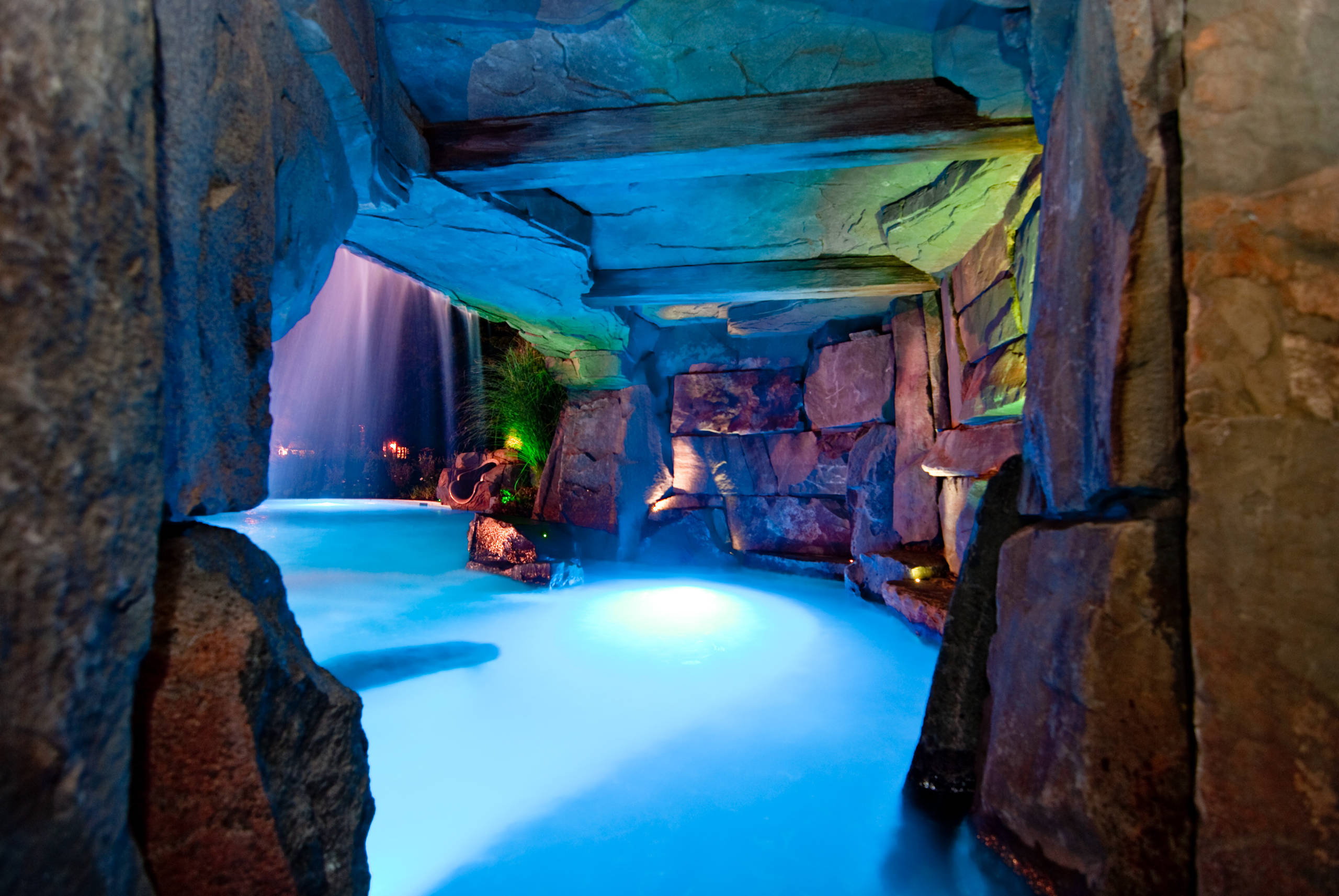 Pool Grotto  Houzz