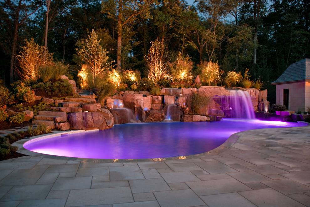 Pool - tropical pool idea in New York