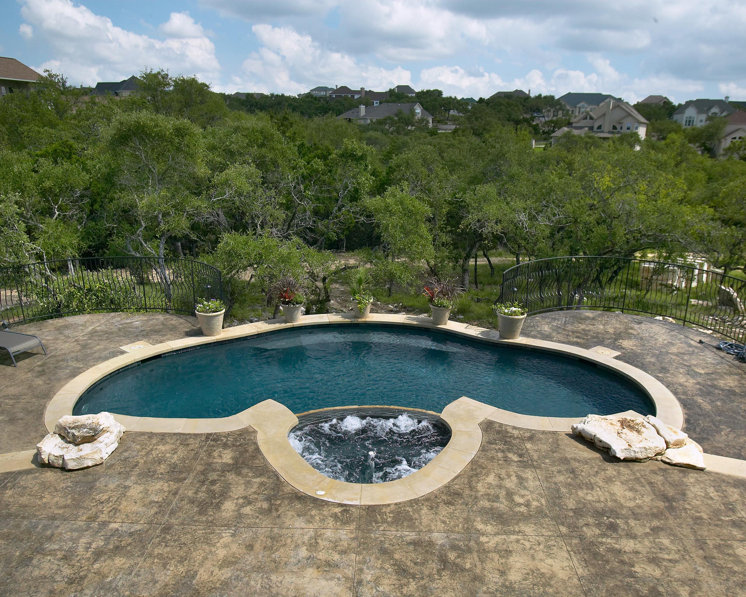 San Antonio Formal Pool/Spa