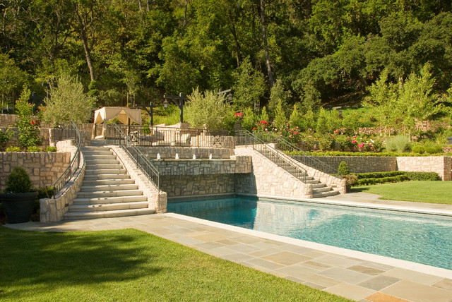 San Francisco Bay Area Mediterranean Pool San
