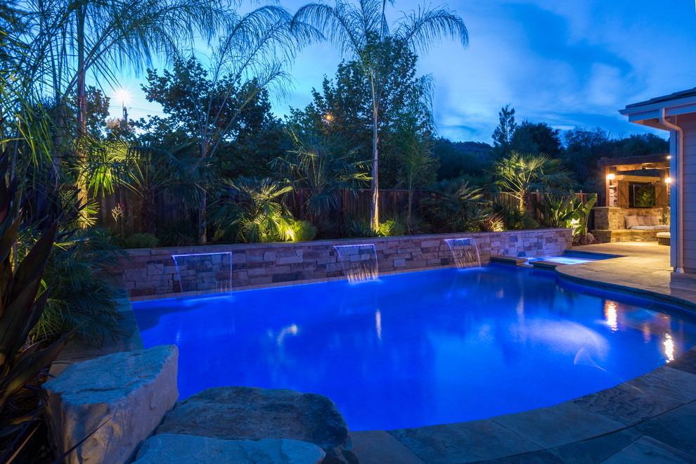 Inspiration for a timeless pool remodel in San Francisco