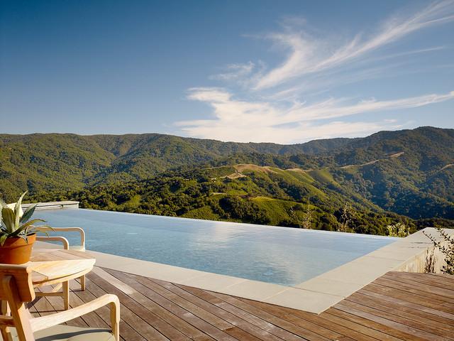 Santa Lucia Preserve Modern Pool San Francisco By