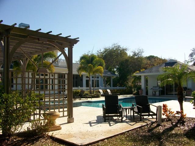 Sarasota Home contemporary-pool