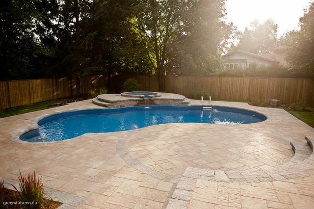 Scenic hamilton pool and landscape farmhouse landscape for Pool design hamilton