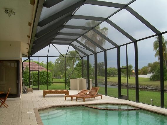 Screen Patio Pool Enclosure Photos Tropical