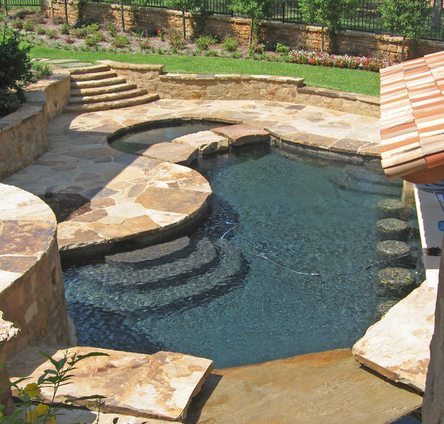 Selected Pool Projects eclectic pool