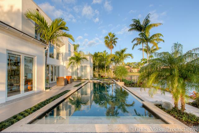 Shelly Preziosi Interior Design Boca Raton Florida Tropical Pool Other Metro By