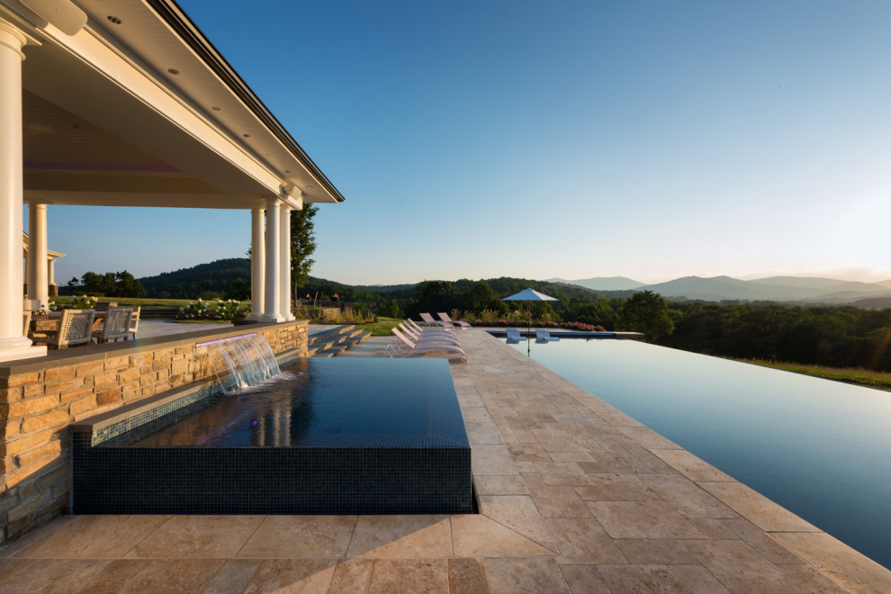 Shenandoah Retreat Woodville, VA - Contemporary - Pool ... on Colao & Peter Luxury Outdoor Living id=57622