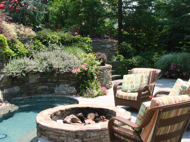 Short Hills Nj eclectic-pool