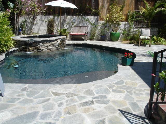 Silver Lake contemporary-pool
